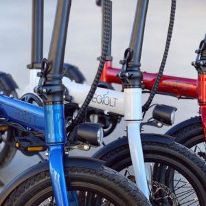 Vélo électrique pliable Eovolt Confort