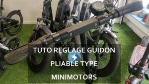 RÉGLAGE DU JEU AU GUIDON DES TROTTINETTES ÉLECTRIQUES PLIABLES (type Minimotors, Speedtrott…)