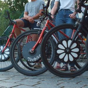 Teebike – roue électrique connectée