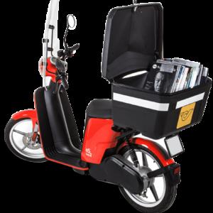 Scooters électriques de livraison