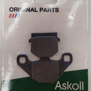 Askoll Plaquettes de frein tous scooters (Nouveaux modèles)
